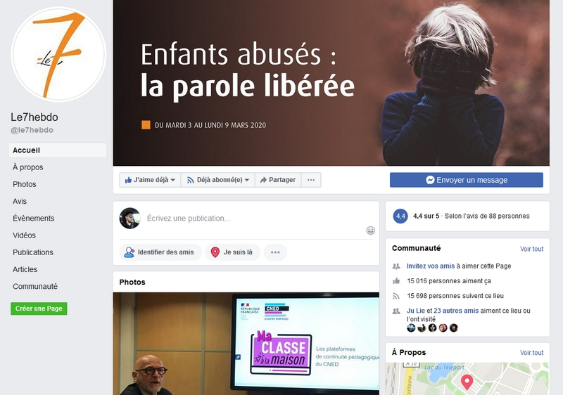 Le7 Hebdo facebook